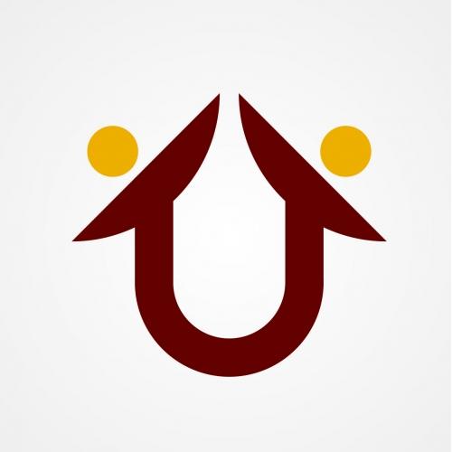 U Home Logo Design