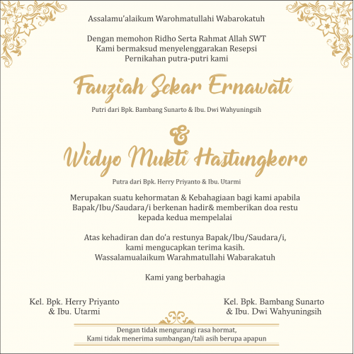 Wedding Invit