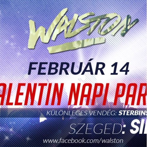 Facebook event cover /Walston/