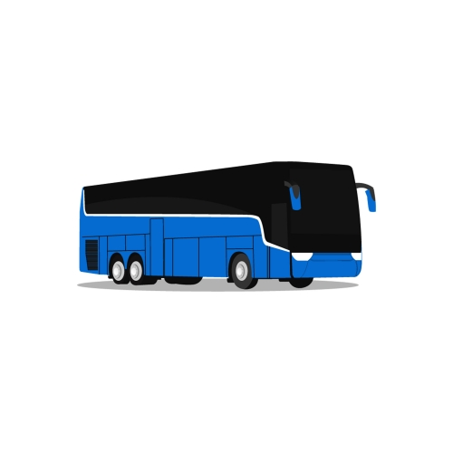Bus Transport illustration Vector Icon