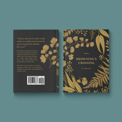 Browning's Crossing | book cover design