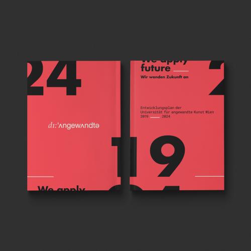 Art University of Vienna | book design