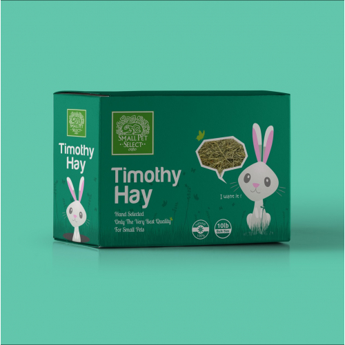 Box Packaging design for Timothy Hay