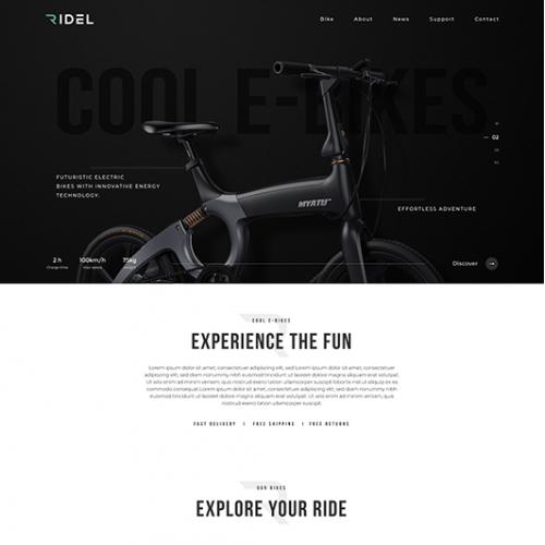 E-bike Online Store