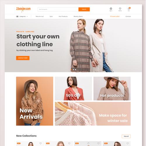 Fashion wear Online Store