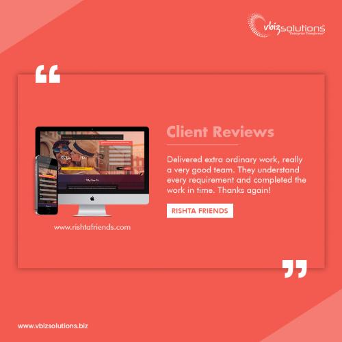 Client Reviews - Rishta Friends Website