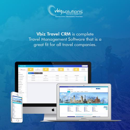 Vbiz Travel CRM