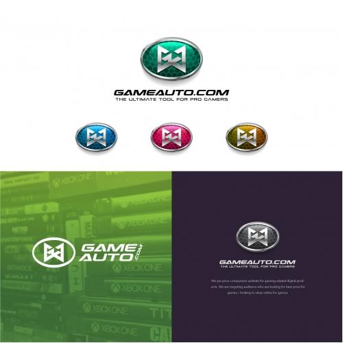 Game Branding Logo