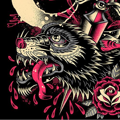 Wolf Dagger artwork