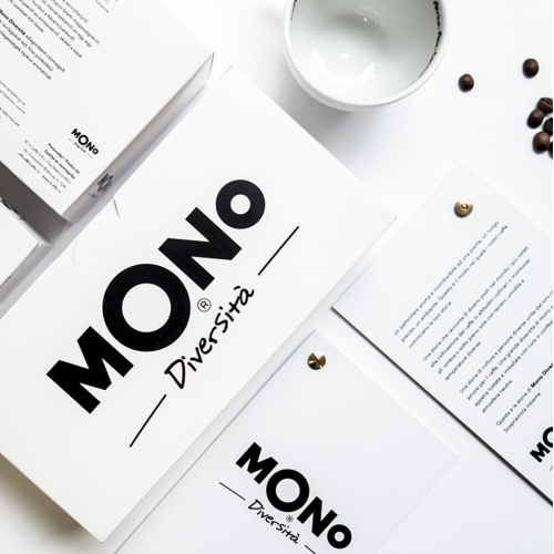 Packaging design for MONO - coffee roasters