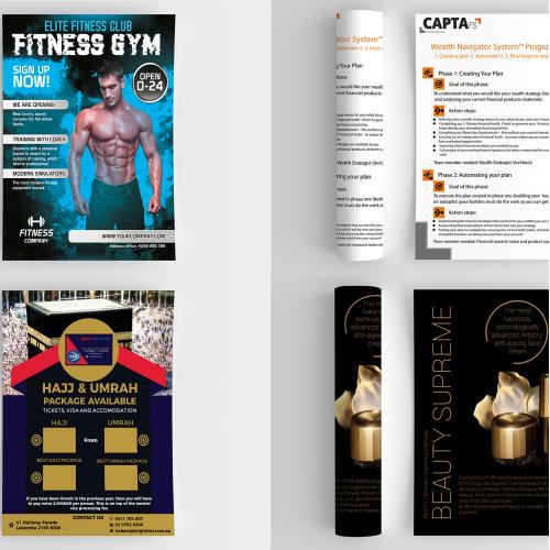 Flyer Design Portfolio