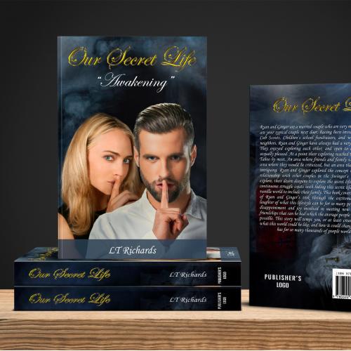 Our Secret Life book cover design.