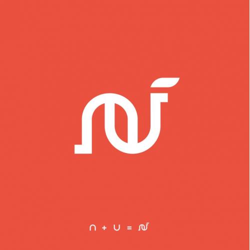 letter N logo.