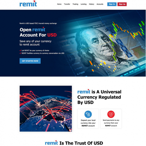 Currency Exchange Company Website