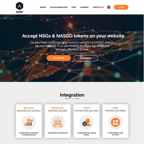 Cryptocurrency Website Design