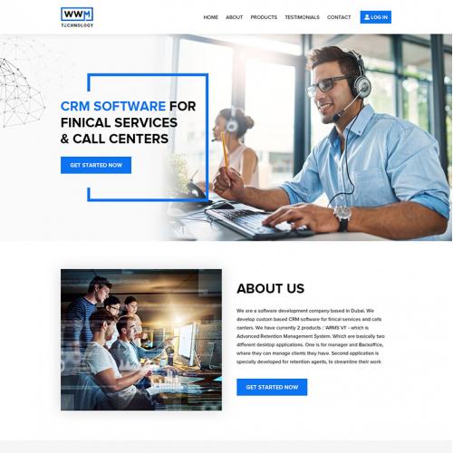 Technology Company - Website Design