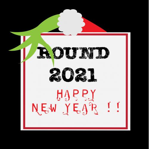 Grinch bringing on round 2021! new year!!