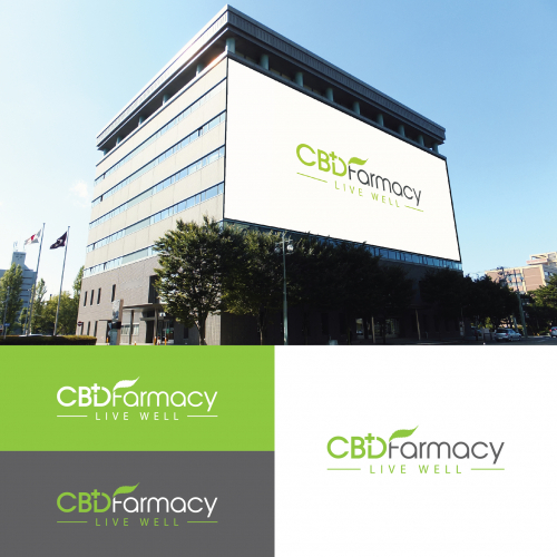 CBD Farmacy Logo Design
