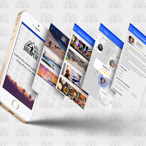 Shurpuh App UI/UX