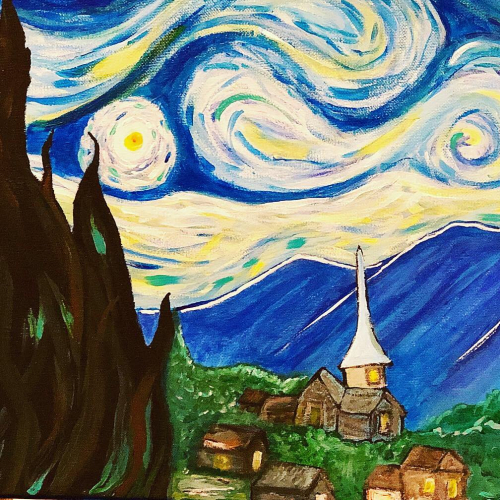 My rendition of Starry Night