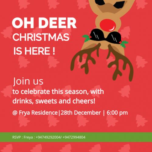 Oh Deer Christmas is Here!