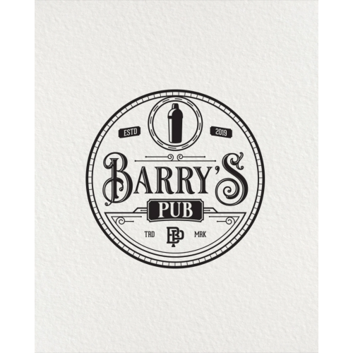 barry's pub logo