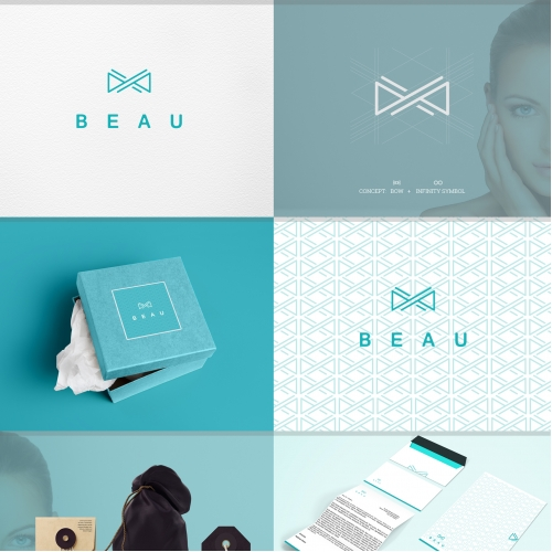 Minimal logo for Beau