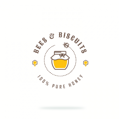 Logo for honey
