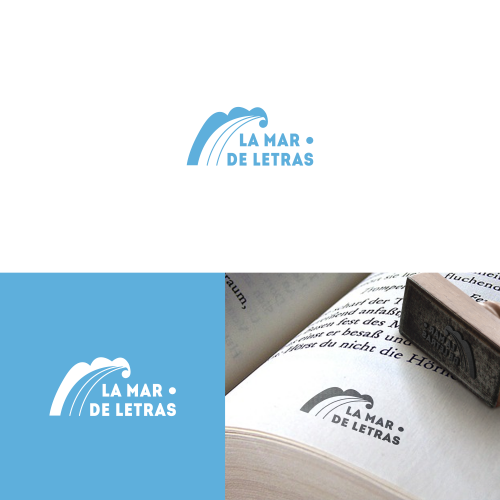 Logo for a bookstore