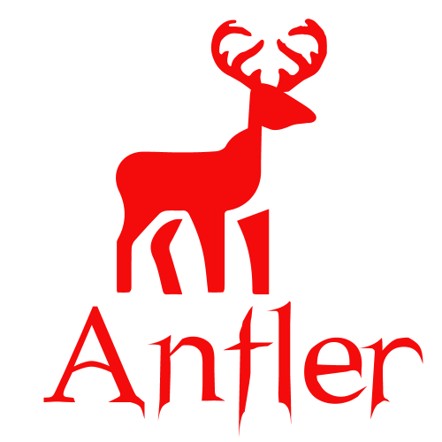 hUNTING lOGO FOR ANTLER