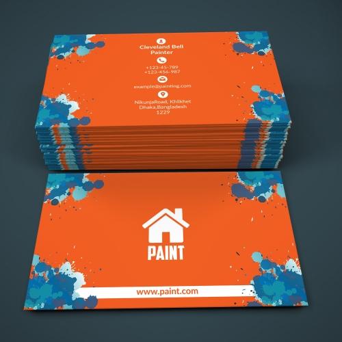 Business Card For Graphic Designer/Painter/Artist