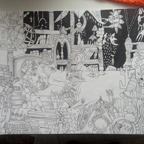Ilustracion arte dibujo