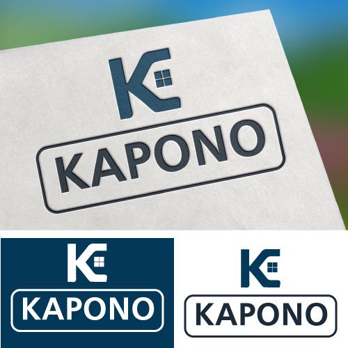 Kapono logo design