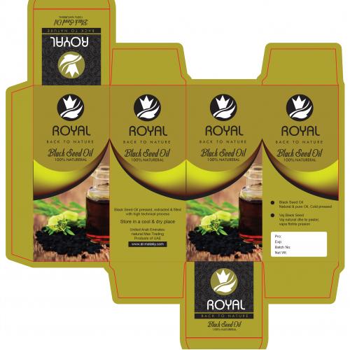 Seed Oil Packaging