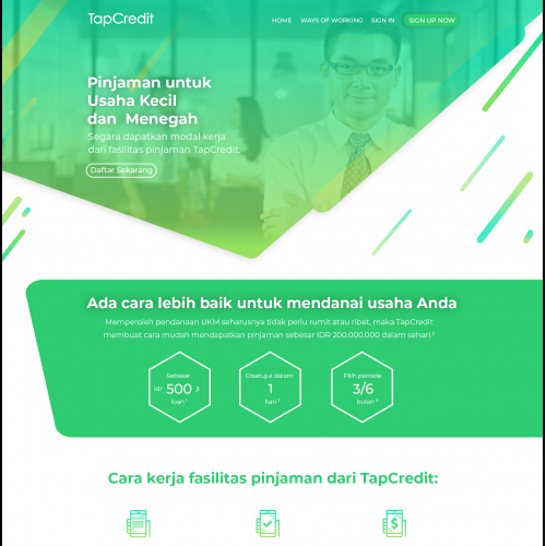 Lending Company Website