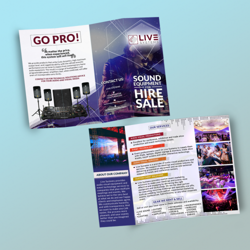Quad-Fold Brochure Design