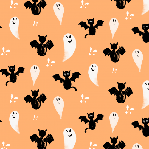 Bat Cats and Ghosts