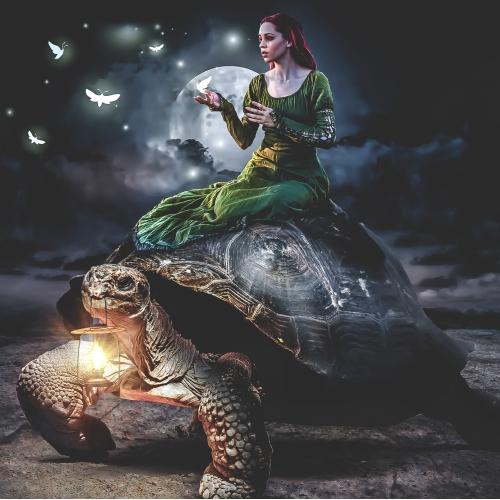 Medieval - surreal photomanipulation