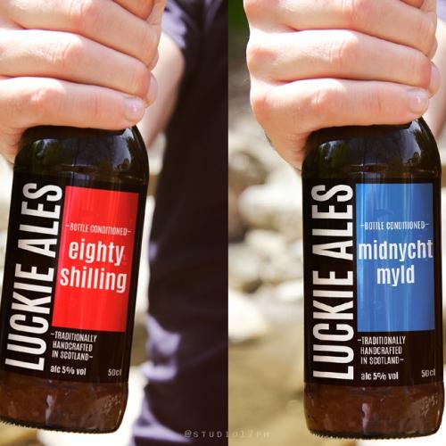 Luckie Ales Beer Label Design