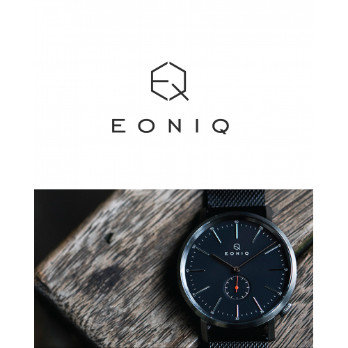 logo for Eoniq (Luxurious watch brand)
