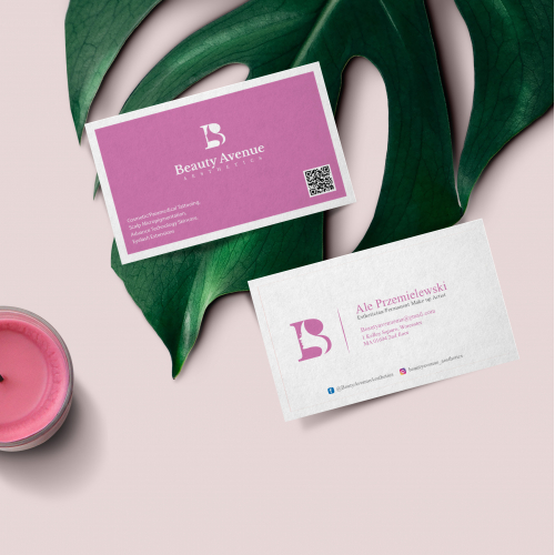 Feminine Business card