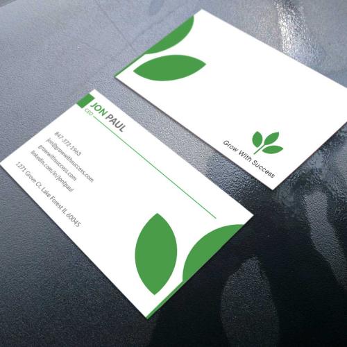 Organic Business card