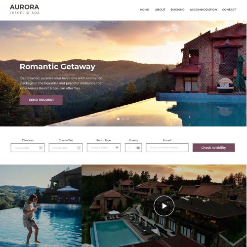 Aurora Spa Re-Design 2018