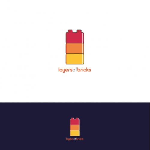 Lego-themed logo
