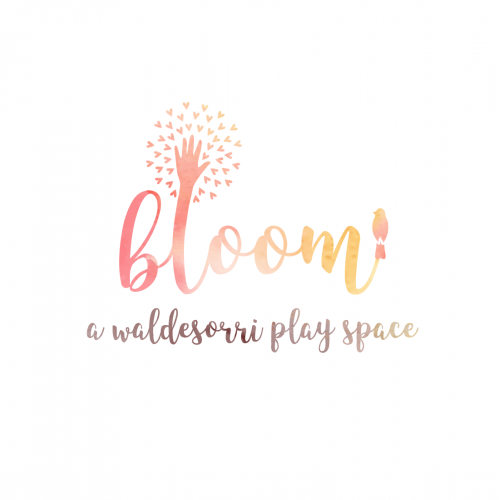 Logo design for Bloom, children play space