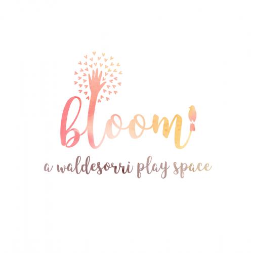 Logo design for Bloom, children play space