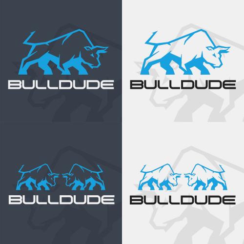 BULLDUDE Logo Concept Design