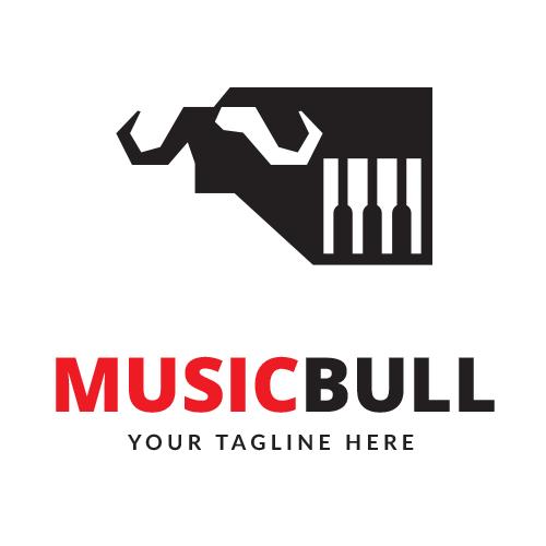 Music Bull Logo