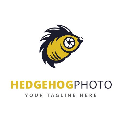 Hedgehog Photo Logo