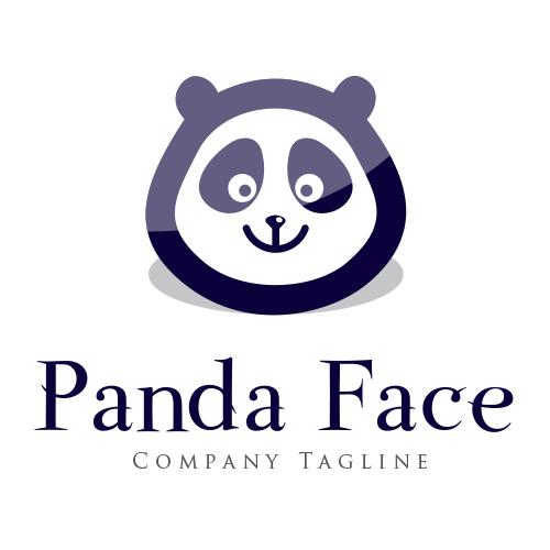 Panda Face Logo